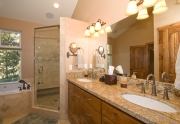 South Tahoe homes for sale master bath