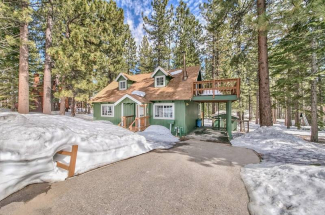 Tahoe Cabin For Sale!