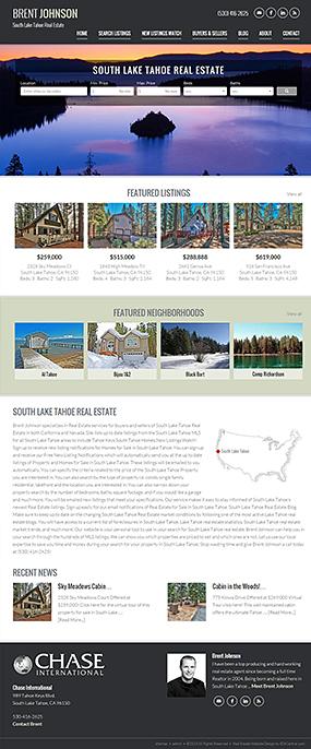 Responsive Real Estate Website Brent Johnson